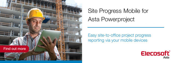Site Progress using Asta