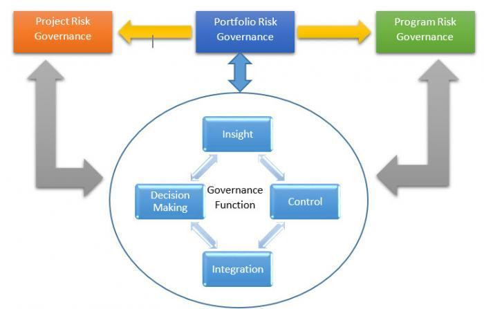 driving project portfolio risk & opportunity management for portfolio management model portfolio management framework diagram #15