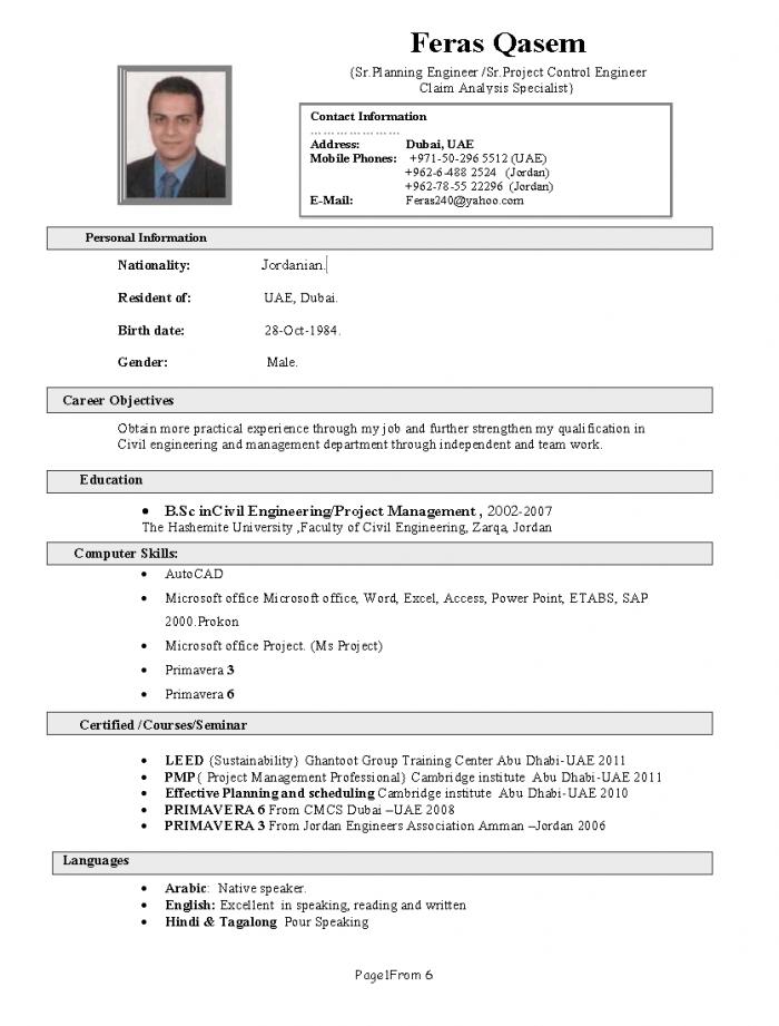 Dubai Resume (CV) Writing Tips - Dubai Employment Tips